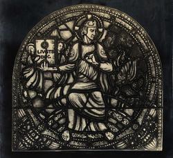 Ant. glassmalerier av Emanuel Vigeland..