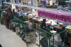 Fretexavdelingen  sorteringshallen, Ole Deviks vei 50, 0668