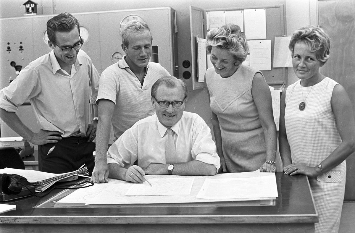 Meteorologer. Fotografert august 1968.