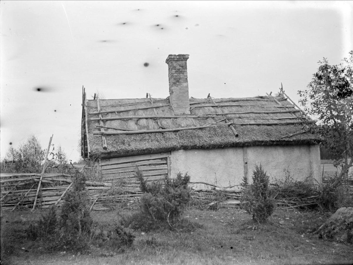 Lovisa Jansdotters torp på gränsen mellan Litslena by och Hällby gård, Litslena socken, Uppland, 1910-tal