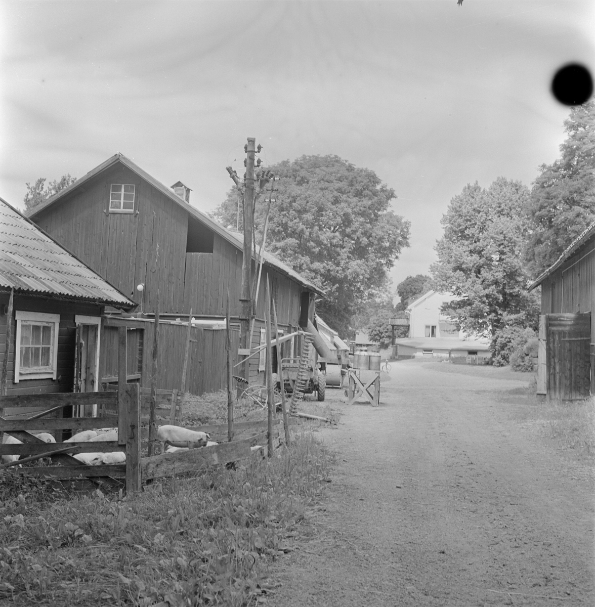 Gården vid Ekeby kvarn, Ekeby, Gamla Uppsala, Uppland