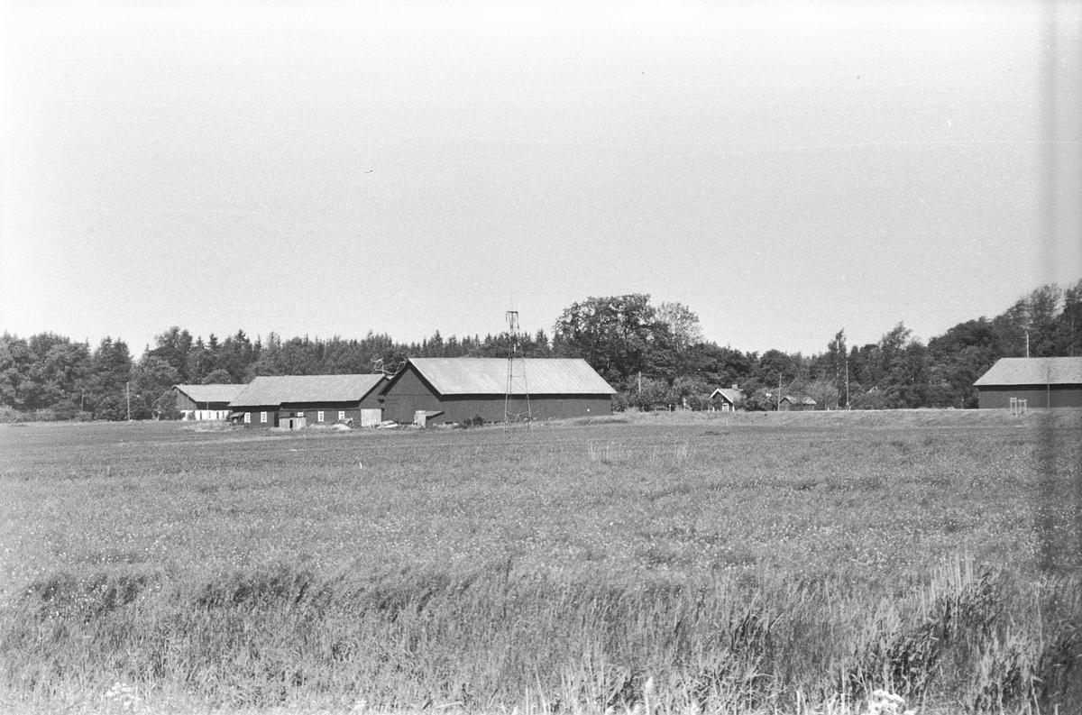 Österby gård, Österby, Läby socken, Uppland 1975
