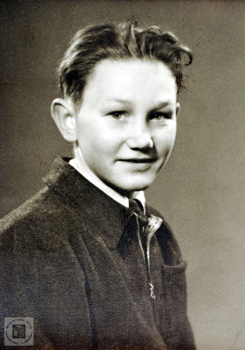 Portrett av Karl Ingvar Seland fra Grindheim.