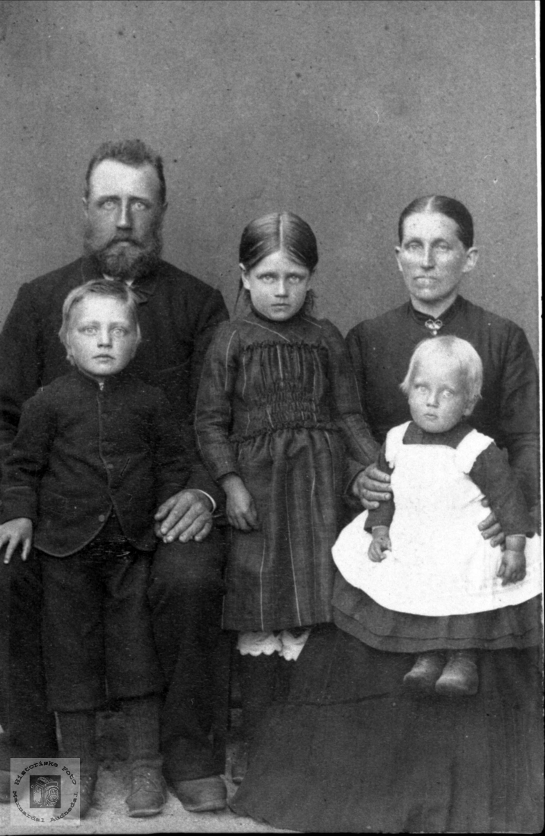 Familiegruppe fra Lunden, Laudal.