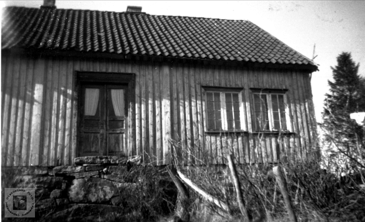 Hus Krokåkeren Birkeland i Øyslebø.