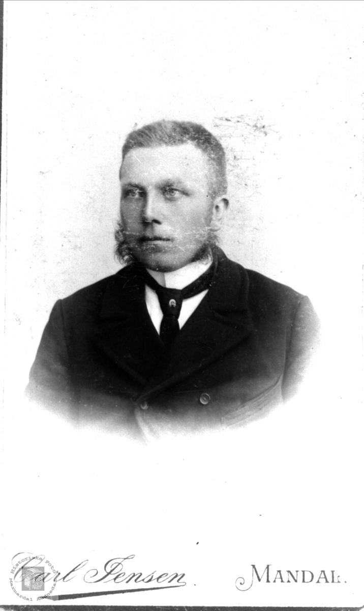 Portrett av Ola Finsdal, Øyslebø.