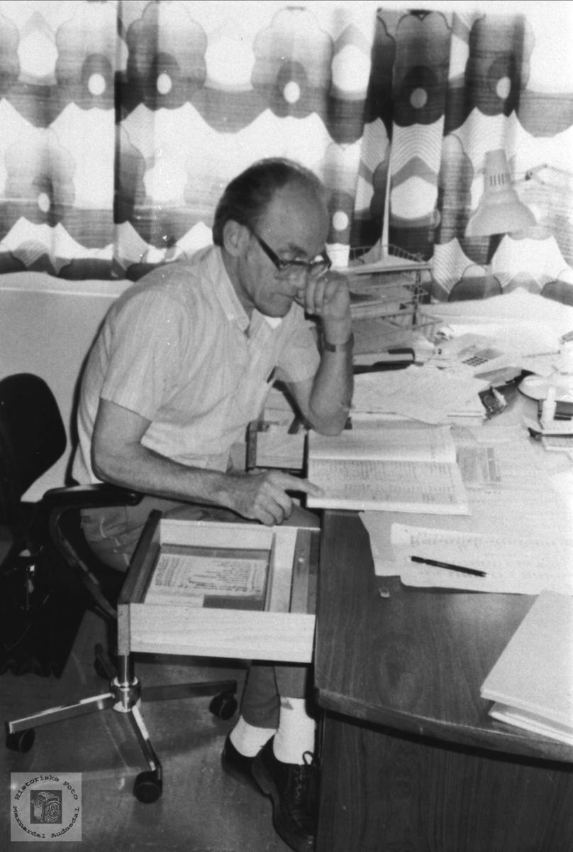 Rektor Anders Lunden.