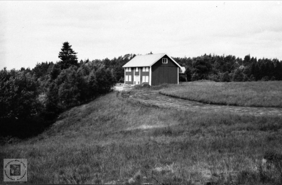 Rustad gård i Laudal.