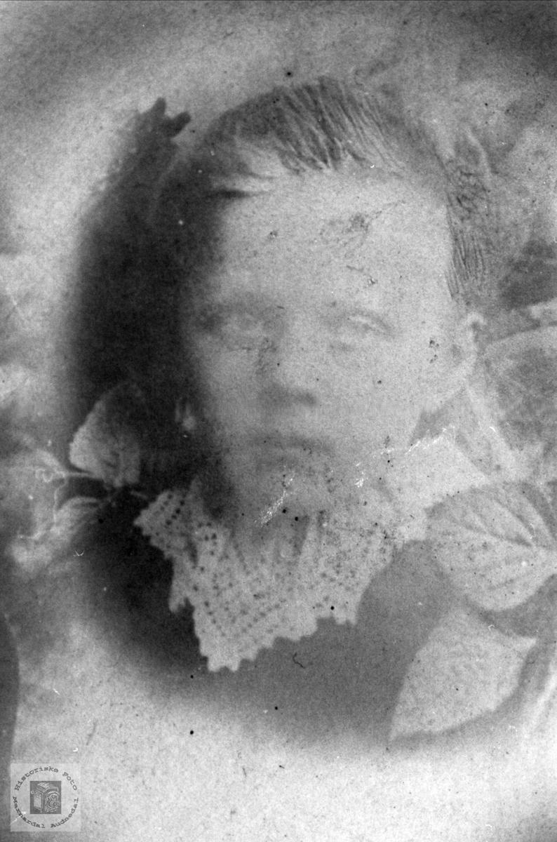 Barneportrett av Severine Madland, Åseral.