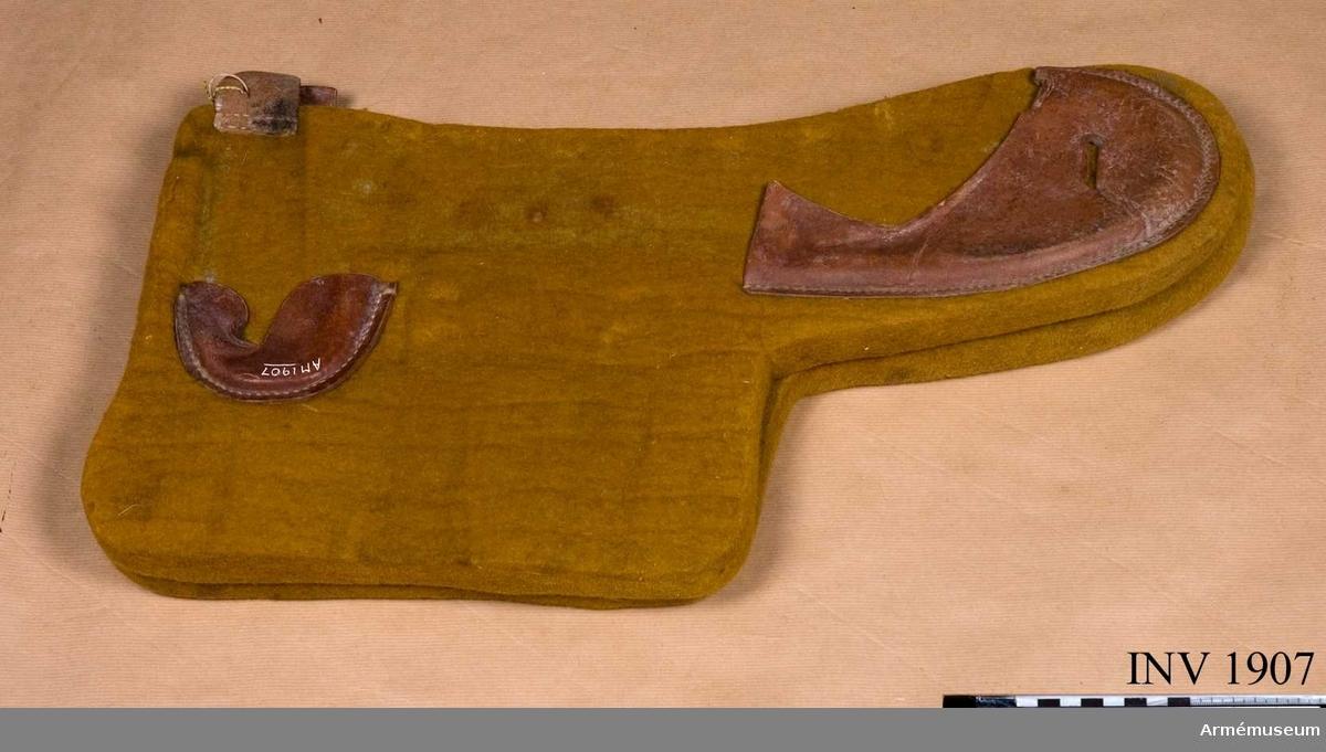 Vojlockskivor höger-vänster t sadel m/1900, K 1.