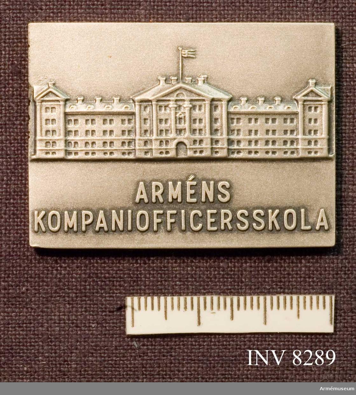 Arméns kompaniofficersskola