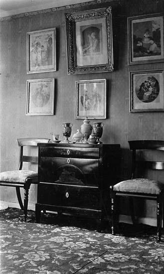 Interiör från familjen Krooks hem, Uddevalla
