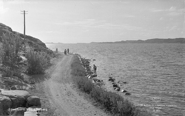 """Enligt AB Flygtrafik Bengtsfors: """"Lökeberg sjön utåt Bohuslän""""."""