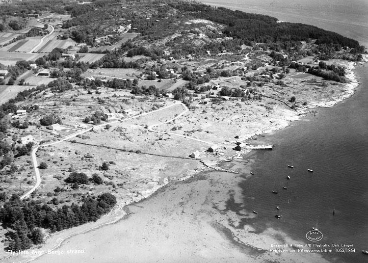 Berga strand vid Höviksnäs