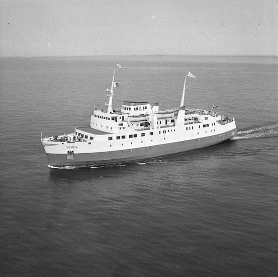 Fartyg nr. 264 M/F Scania, bilfärja.