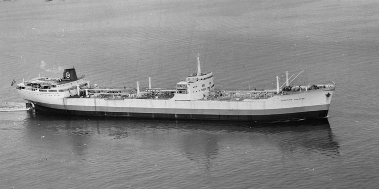 Fartyget 133 T/T Josefina Thordén.