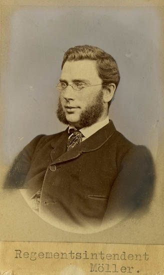 Regementsintendent Carl Möller.