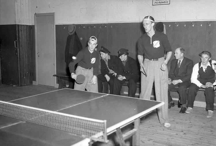 "Enligt notering: ""Ping Pong 6/1 1948""."