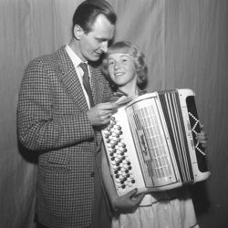 Hagge Geigert i  Kongresshallen 1956