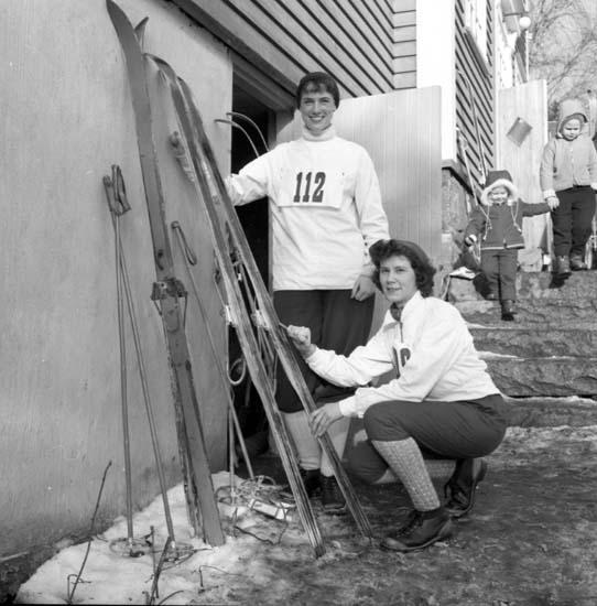 Distriktsmästserskap i skidor 1958