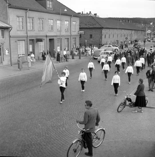 """Enligt notering: """"Svenska Flaggans Dag 6/6 -59""""."""