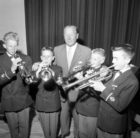 Skolavslutning med musik den 10 juni 1959