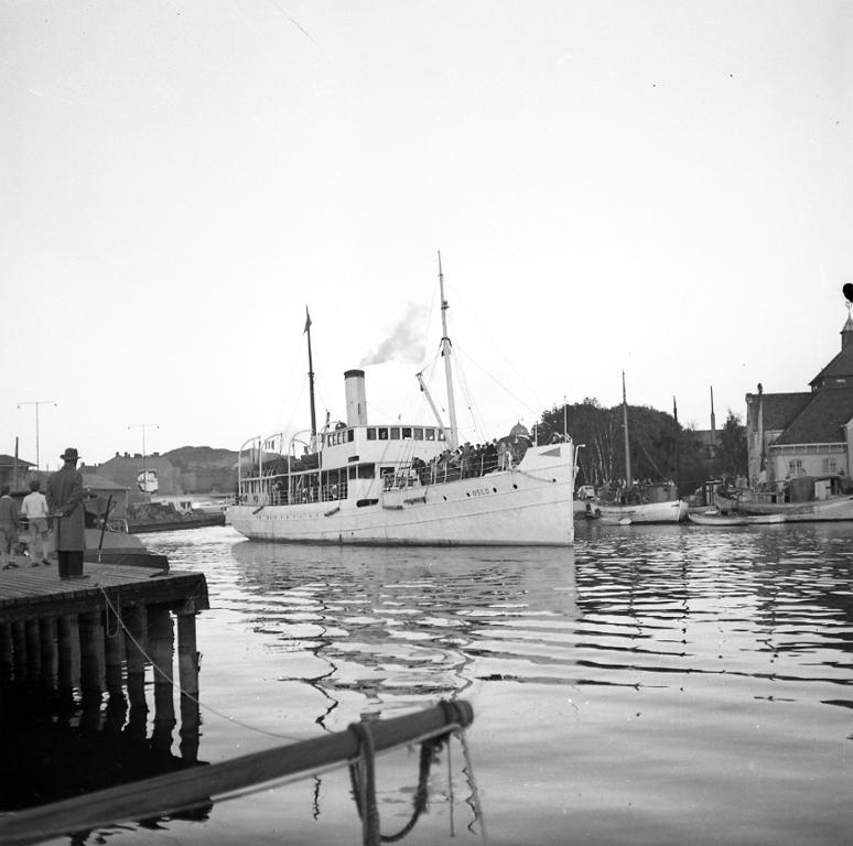 Passagerarbåten Oslo på besök