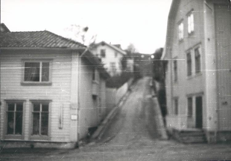"""Noterat på kortet: """"Marstrand juldagen 1959."""""""