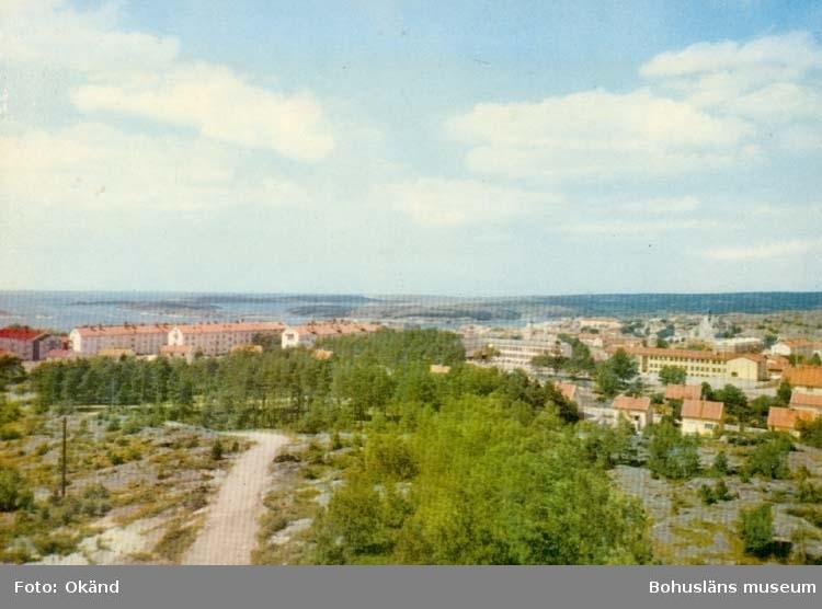"""Tryckt text på kortet: """"Strömstad.""""  Ultraförlaget A. B. - Solna."""" ::"""