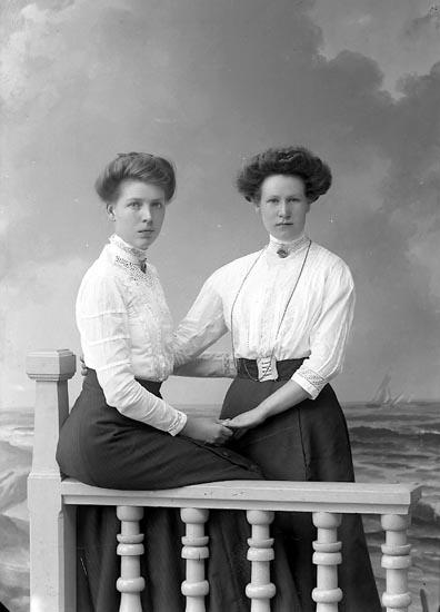 """Enligt fotografens journal nr 2 1909-1915: """"Frode, Hedvig Stenungsund""""."""