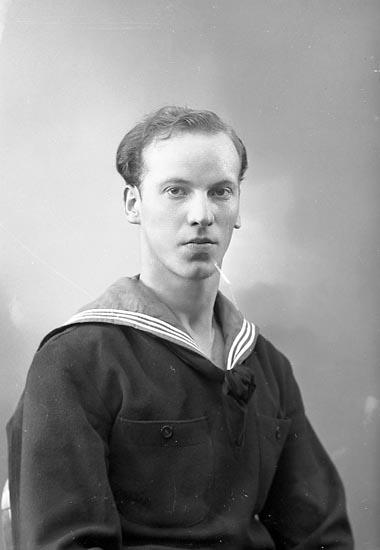 """Enligt fotografens journal nr 6 1930-1943: """"Göransson, Arne Nösnäs Här""""."""