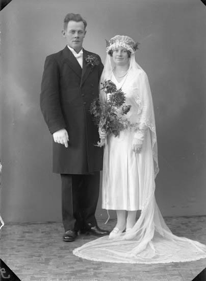 """Enligt fotografens journal nr 6 1930-1943: """"Martinsson, Birger Hagalund Ödsmål""""."""