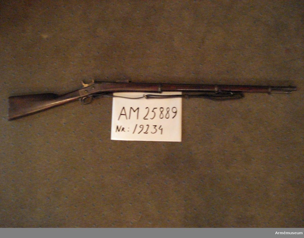 Grupp E II f 12 mm gevär.  Samhörande nr AM.41076-7