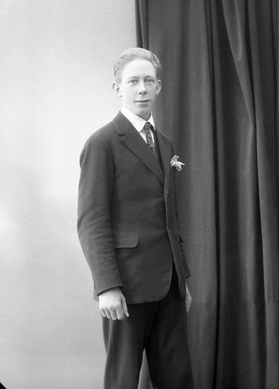 "Enligt fotografens journal nr 5 1923-1929: ""Arfwidsson, Yngve Thoréns bageri Här""."