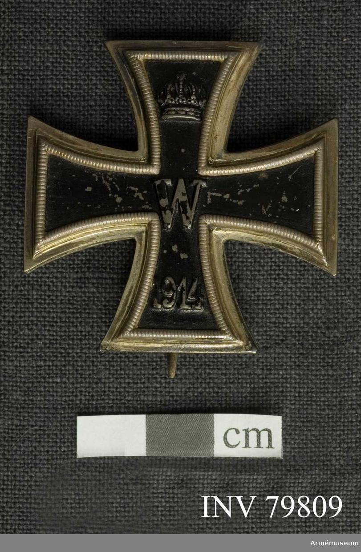 Grupp M II.   Tilldelad kapten K Killander.