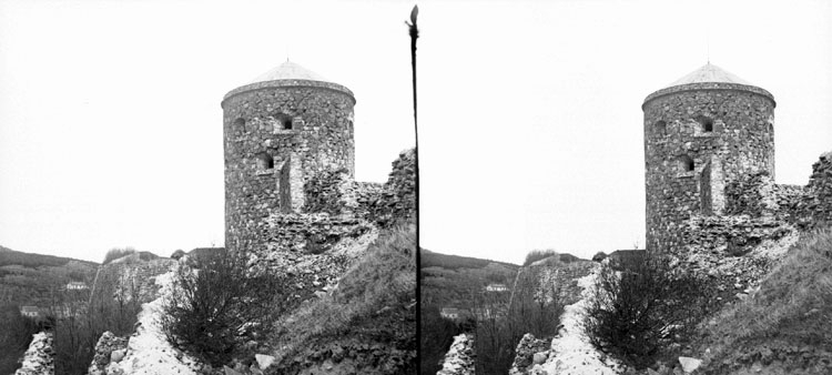 25 Maj 1902 Bohus fästning, Kungelf (Stereo karta III)