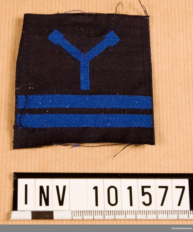 Gradbeteckning: torpedhantverkare, värnpliktig, korpral, marinen.