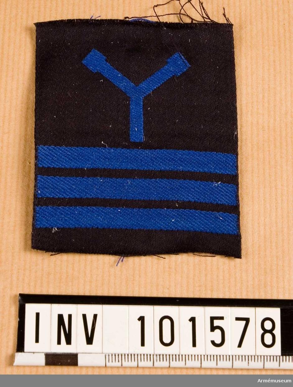 Gradbeteckning: torpedhantverkare, värnpliktig, furir, marinen.