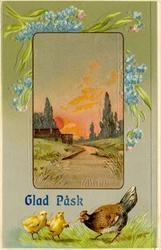 Notering på kortet: Glad Påsk