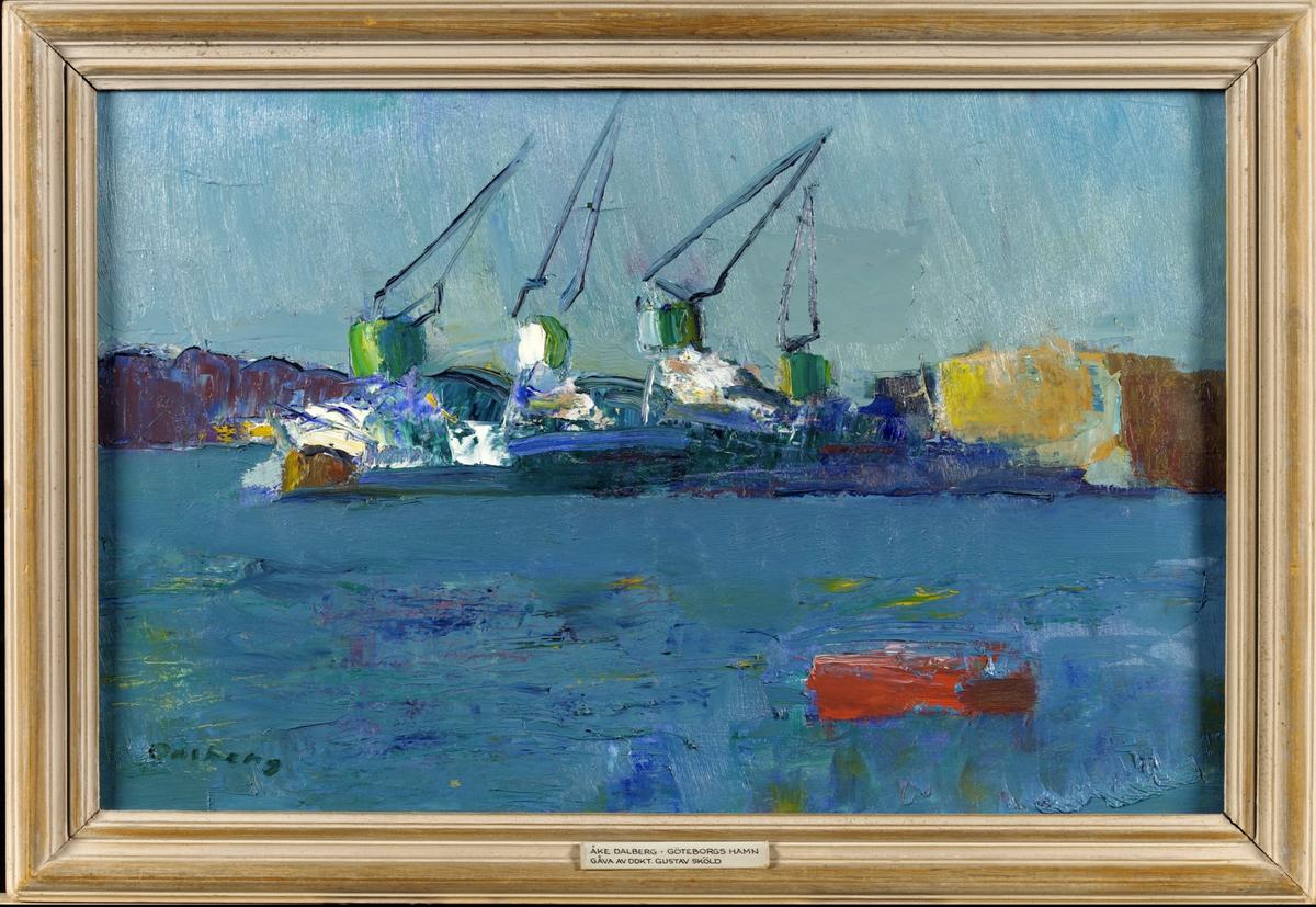Göteborgs Hamn [Målning]