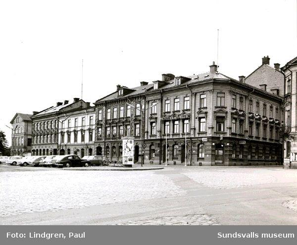 Sjögatan 5, Hotell Baltic, Skeppsbrokällaren, Sundsvalls Kafé AB.