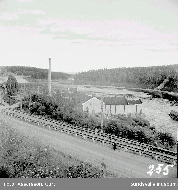 Nedansjö f.d.papperssmasse-och f.d. impregneringsfabrik.