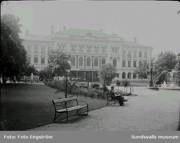 Sundsvalls Enskilda Bank, Vängåvan.