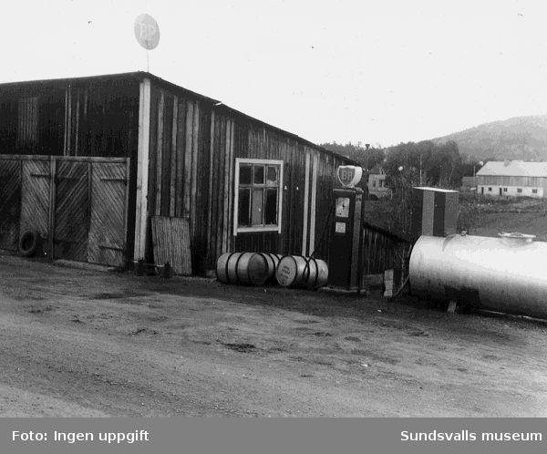BP:s bensinstation i Torpshammar, Torp.