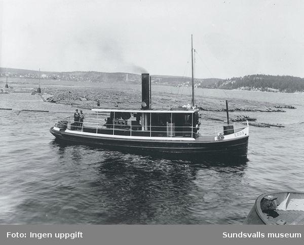 Kubikenborgs bogserbåt Ebba.