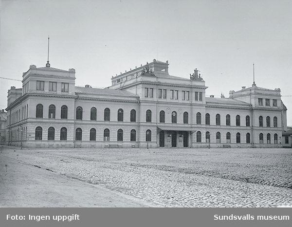 Stadshuset i Sundsvall vid Stora torget
