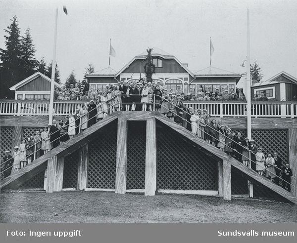 Fläsians badhotell som existerade mellan 1913 - 1941 .