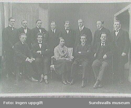Medlemmar i Sundsvalls Baptistförsamling,