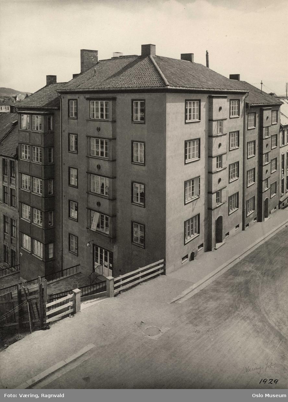 bygård, trapp