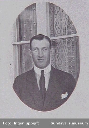 Klas Wallström, Sörböle, född 1895 död 1979.